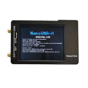 Nano VNA-H Portable Digital Vector Network MF HF VHF UHF Antenna Analyzer Handheld Vector Network Analyzer Antenna Analyzer(China)
