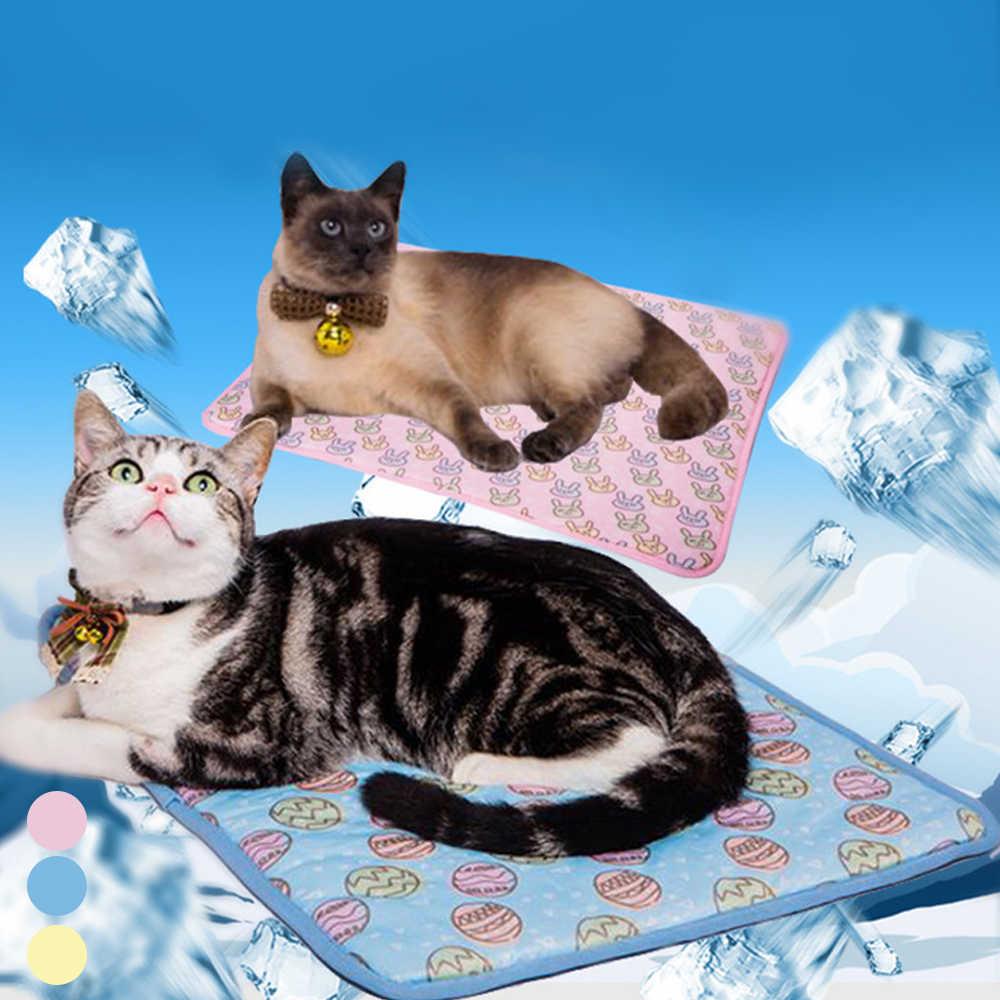 Huisdier Zomer Cooling Bedden Kat Hond Cooling Matten Comfortabele Huisdier Kussen Katten Koude Gel Pad Bed Voor Kleine Medium Grote hond Levert #3