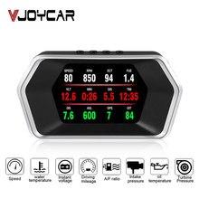 Newest Head Up Display OBD Car Electronics HUD Display P17 OBD2+GPS Dual Mode GPS Speedometer Clear Faulty Code PK C1 RPM Temp newest e350 car hud head up display combine obd