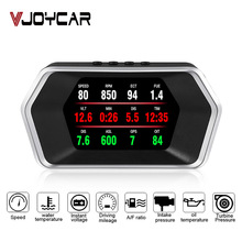 Nieuwste Head Up Display Obd Auto Elektronica Hud Display P17 OBD2 + Gps Dual Mode Gps Snelheidsmeter Clear Defecte Code pk C1 Rpm Temp