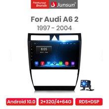 Junsun-راديو السيارة Android 10.0 ، مشغل فيديو متعدد الوسائط ، صوت ia ، ستيريو ، dvd ، 2 din ، لأودي A6 ، C5 (1997-2004) ، S6 ، RS6 Pro