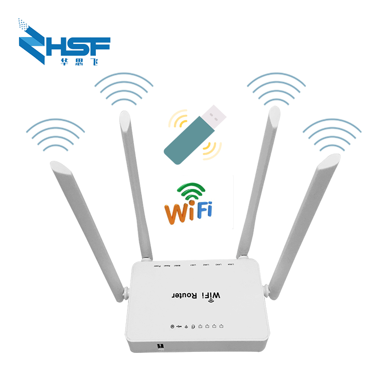 Router Wi-fi For 3g 4g Usb Modems 300mbps Repeater Wireless, 4 External Antennas Works Well With Huawei E3372 Modem Wholesale