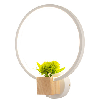 Northern Europe Bedroom Wall Lamp Bedside Lamp Concise Modern A Living Room Led Personality Originality Marriage Room Television