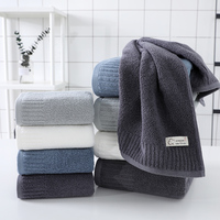 LREA 100% cotton FASHION Pure and fresh style face towel  material Soft and comfortable Protect your skin 34x71cm 1