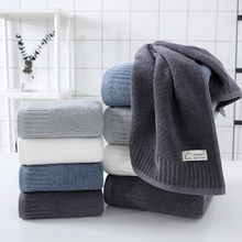 LREA 100% modna bawełniana czysta i świeża ręcznik do twarzy miękka i wygodna chroni skórę 34x71cm