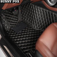 Car floor mats for Hyundai Verna Accent Solaris 5D all weather heavy dutycar styling carpet rugs floor liners(2006 )