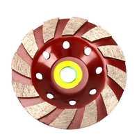 BHTS-5 אינץ מגזר יהלומי גריסה דיסק גלגל כוס צורת עבור בנייה אבן בטון גרניט קרמיקה