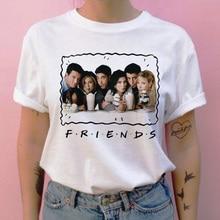 friend tv show women t shirt harajuku cartoon top tee shirt
