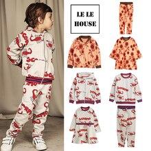 Kids Boys Girls Animals Printed Clothes Hoodie Jacket