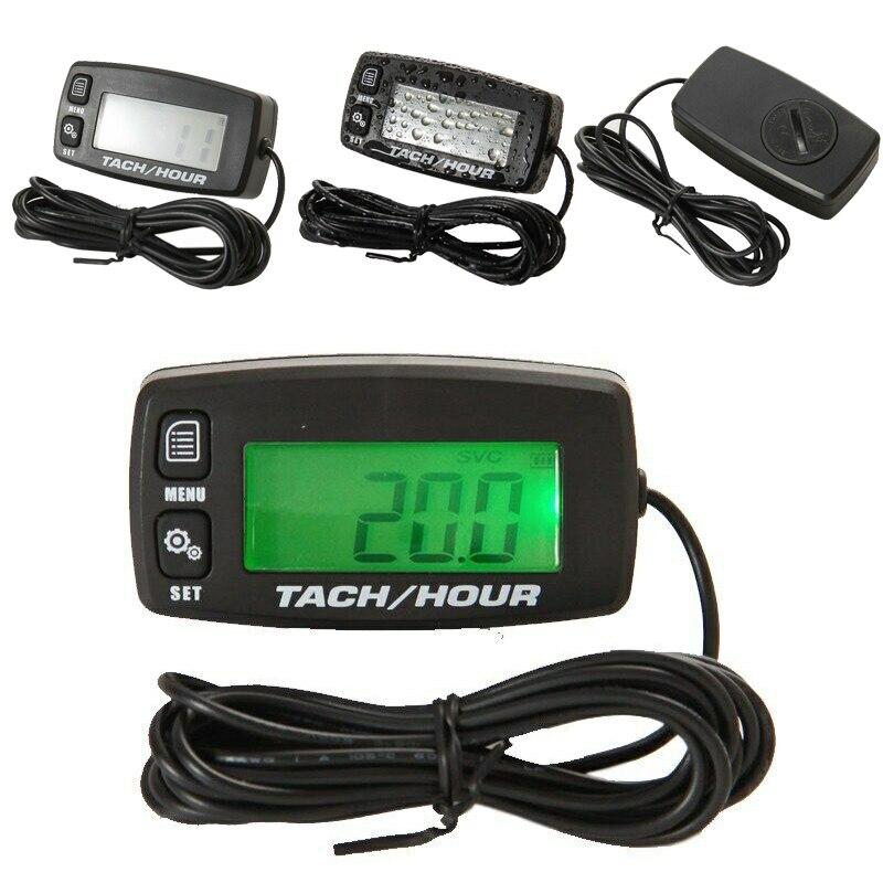 Tachymètre ATV mesure de remplacement accessoires LCD jauges étanche numérique pratique