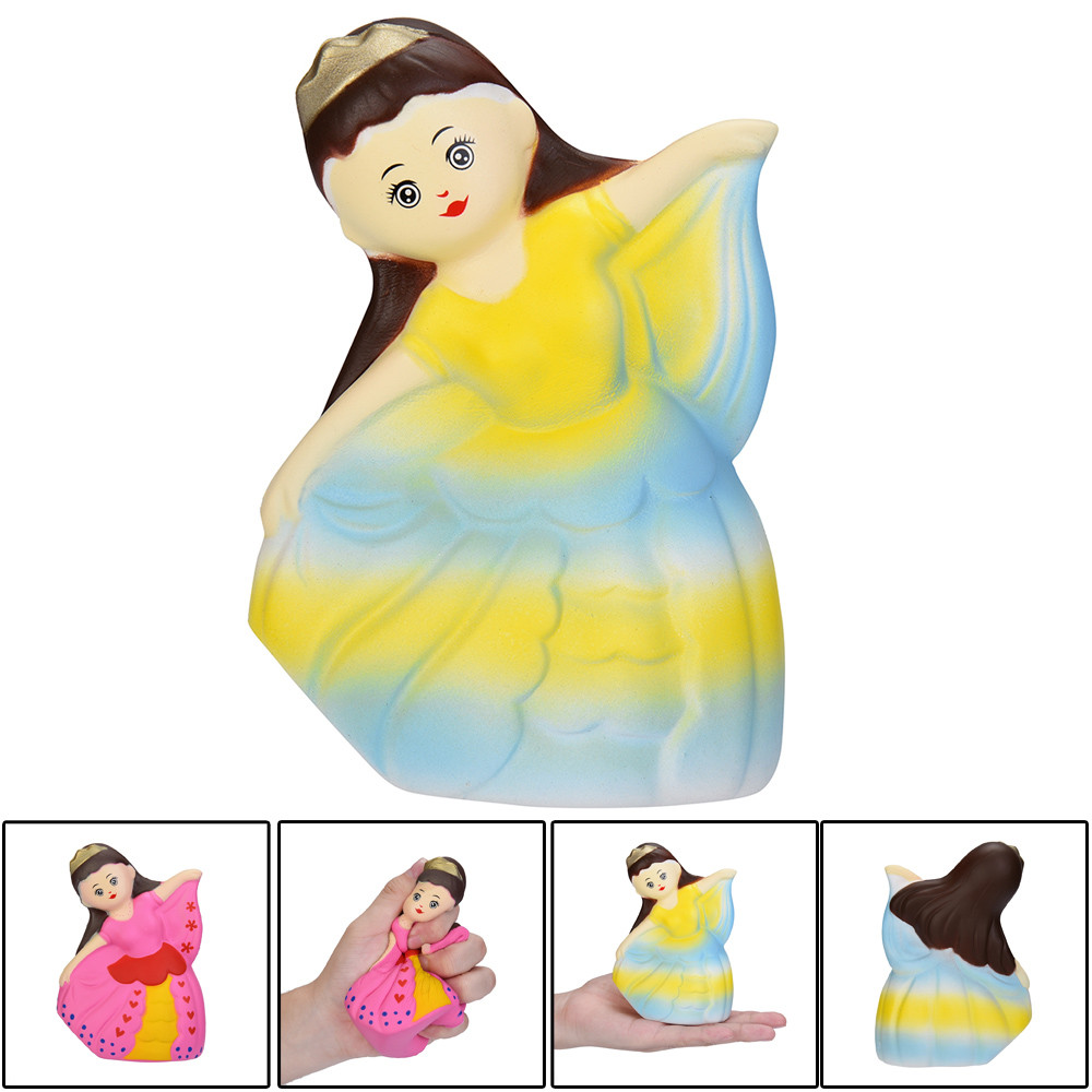 Cute Dancing Girl Decor Slow Rising Kid Squeeze Relieve Anxiet Gift Toys