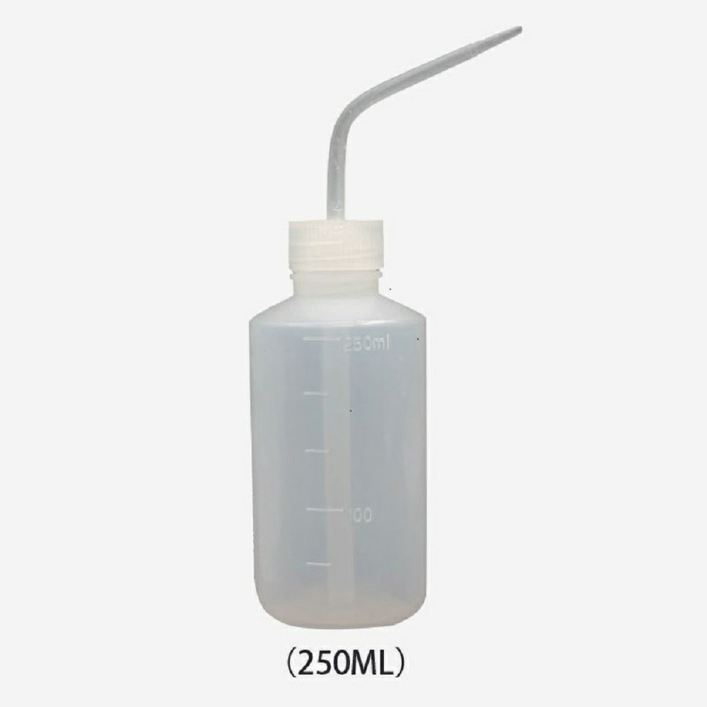250ml Tattoo Squeeze Bottle Wash Cleaning Plastic Spray Permanent Makeup Microblading Accessories