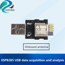 DOITING ESP8285 USB-Wifi Wifi Module 5V Data Collection And Analysis Http Upload MAC Address Collection Onboard/External Antenna(China)
