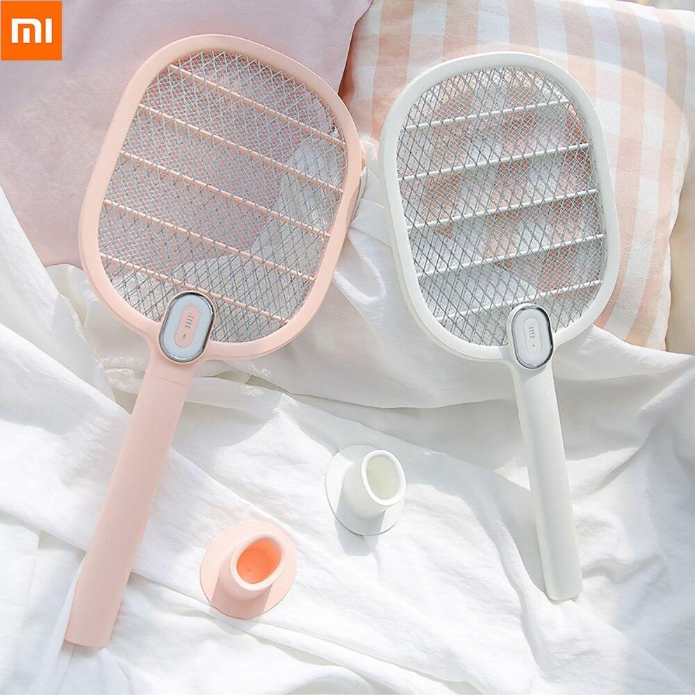 Xiaomi Mijia Leven Mug Swatter Killer Elektrische Draagbare Handheld Racket Insect Fly Bug Mosquito Zapper Swatter Killer
