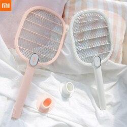 Xiaomi mijia vida assassino mata-mosquitos elétrica portátil handheld raquete inseto fly bug mosquito zapper assassino matador