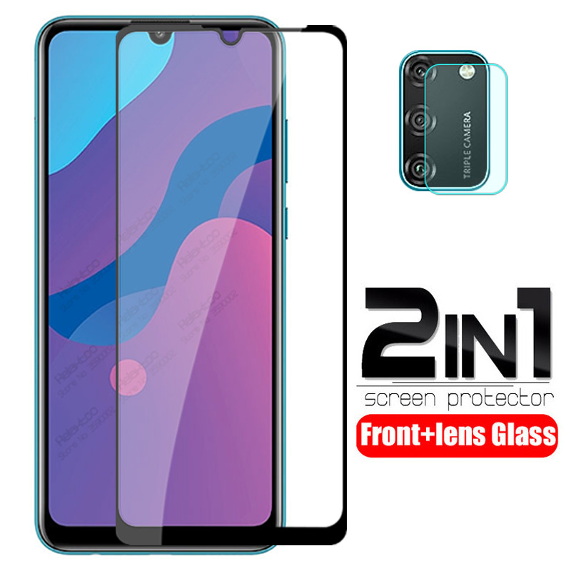 2 In 1 Camera Lens Protective Glass For Huawei Honor 9a Tempered Glass On Honor 9s 9c Honer Xonor 9 A S C Screen Protector Film