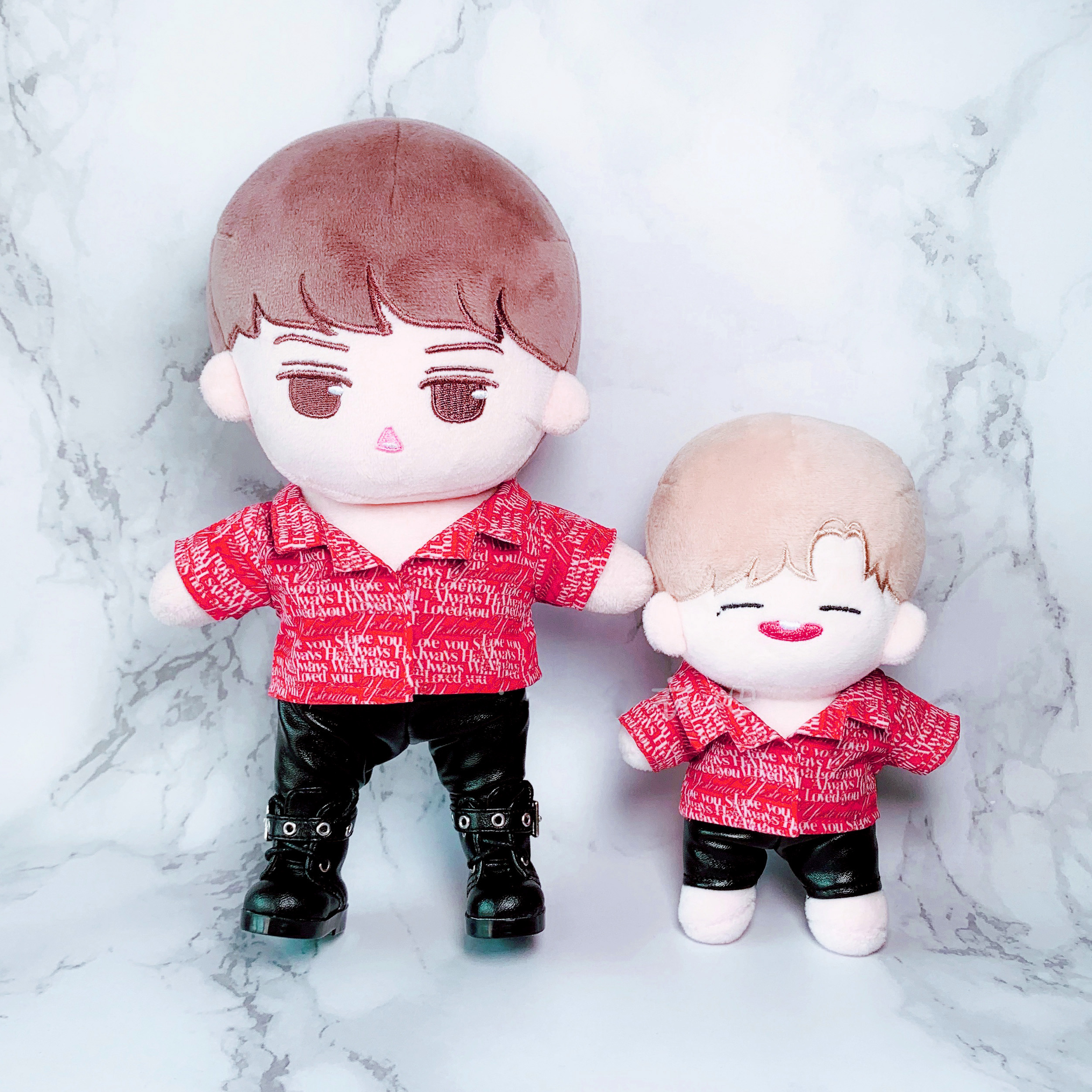 Korea EXO GOT7 Doll/'s  Shoe Plush Toy Handmade Fit for 15 cm Doll