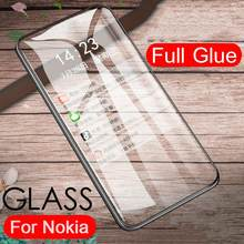 Tempered Glass Film For Nokia 7.2 6.2 4.2 3.2 2.2 Screen protector For Nokia 3.1 5.1 7.1 8.1 Plus X71 X7 X3 X5 Protective Glass(China)