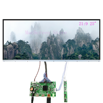 LM250WW1 SS A1  LED display screen Borderless with DP HDMI LVDS controlelr driver board For Diy Desktop Monitor 21:9