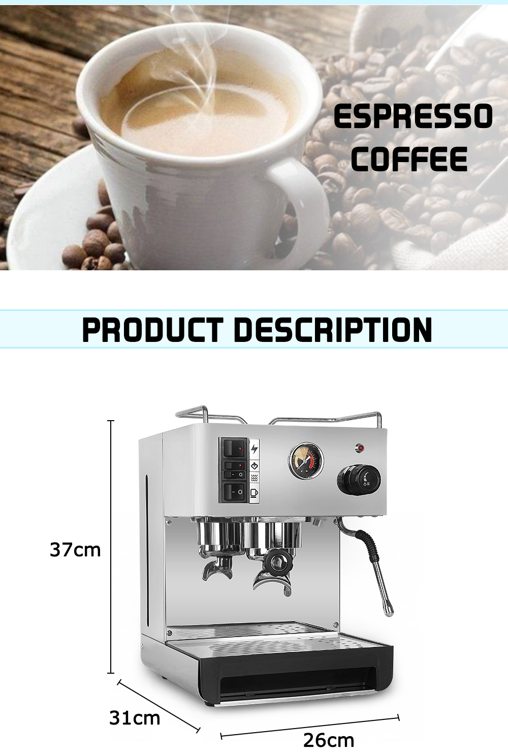LL-18 coffee machine for home use_02