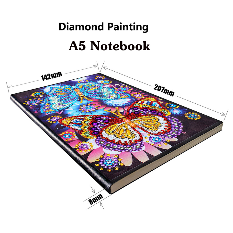 Best Sale A953b Azqsd A5 Notebook Diamond Painting Butterfly