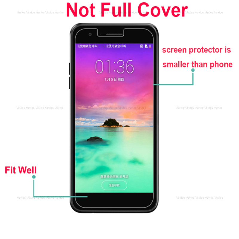 Clear Screen Protector Tempered Glass Film For ZTE Blade A510 A7 2019 V10 Vita Axon 7 4