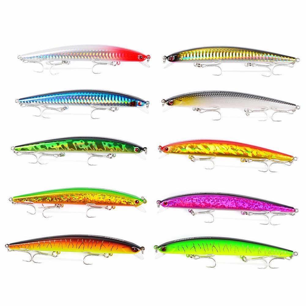 6 Màu Sắc Chất Lượng Cao Thìa Mồi Dụ Cá Wobblers Dọc Dẫn Ghép Hình Mồi Với Hỗ Trợ Móc Biển Trò Chơi Lớn Dụ câu Cá