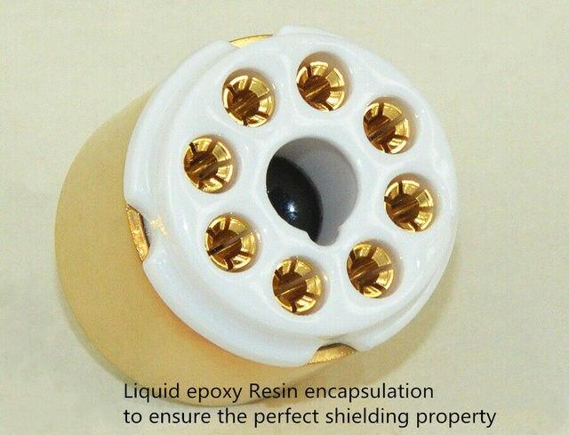 6V6 à EL84 6BQ5 6P14 amplificateur de Tube à vide convertir adaptateur de prise