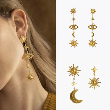 2019 New Deisgn Vintage Gold Color Sun Star Moon Earrings For Women Female Long Statement Earring.jpg 350x350 - 2019 New Deisgn Vintage Gold Color Sun Star Moon Earrings For Women Female Long Statement Earring Party Jewelry Gifts