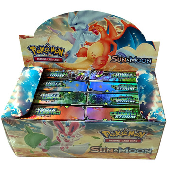 400pcs TAKARA TOMY Pet Pokemon Cards High-end Gift Box Pokemon Cards The Toy of Children 2