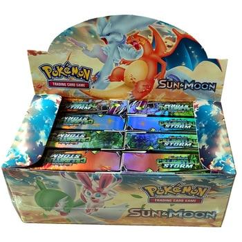 400pcs TAKARA TOMY Pet Pokemon Cards High-end Gift Box Pokemon Cards The Toy of Children 2