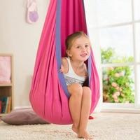 Creative children hammock garden furniture pod swing chair indoor outdoor hanging chair children swing seat garden portable