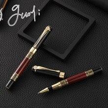 Guoyi A105 Luxury Eenvoudige Business Examen Metal High-End Gifts Mass Customization Logo Signature Gel Pen Journal Levert