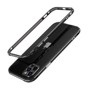 For iPhone 12 /12 Pro/12 Pro Max Mini /11 Pro Max 11 Aluminum metal bumper Frame Slim Cover phone case+ carmera Protector 12