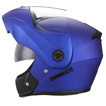2 Gifts Unisex Racing Motorcycle Helmets Modular Dual Lens Motocross Helmet Full Face Safe Helmet Flip Up Cascos Para Moto kask 19