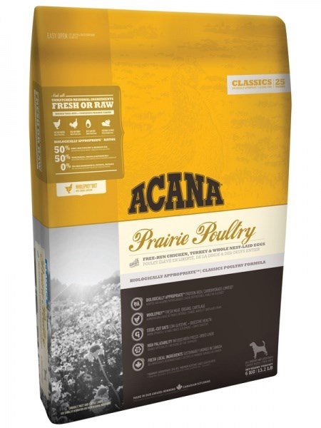 Acana classics Prairie poultry dry.  ...