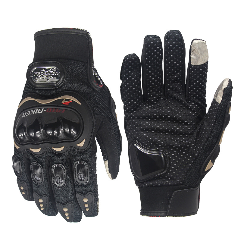 Wind Stopper Full Finger Ski Gloves Warm Riding Motorcycle Gloves Touch Screen