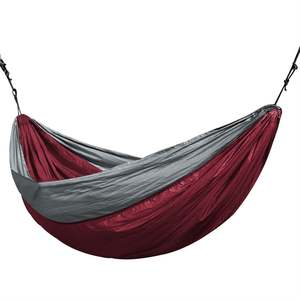 Backpacking Hamaca Double-Hammock Outdoor Parachute Hunting-Sleeping Portable 2-Person