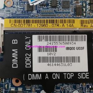 Image 4 - אמיתי CN 0DT781 0DT781 DT781 LA 3301P GM965 DDR2 מחשב נייד האם Mainboard עבור Dell Latitude D630 נייד