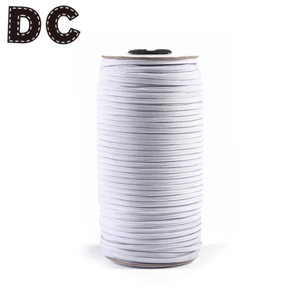 Dc 200yard Roll White 3 6mm Thread Mask With Adjustable Elastic