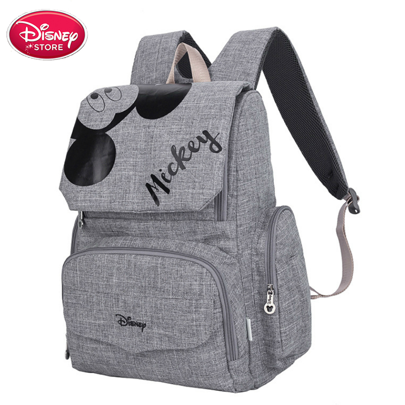 Original Disney Bags Minnie Mickey Mouse Backpack Mummy Diaper Bags Maternity Travel Baby Care Mom Bag Nursing Handbag