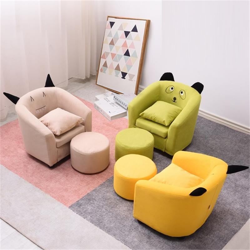 Small Kids Chair Seat Pufy Do Siedzenia Lazy Bag Silla Princesa Mini Infantil Baby Children Chambre Enfant Children's Sofa