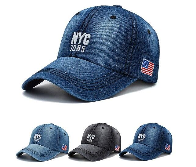New Men  Nyc America Baseball Hat Avoid Outdoor Sun Hot Women Best Adjustable Travel Baseball Cap