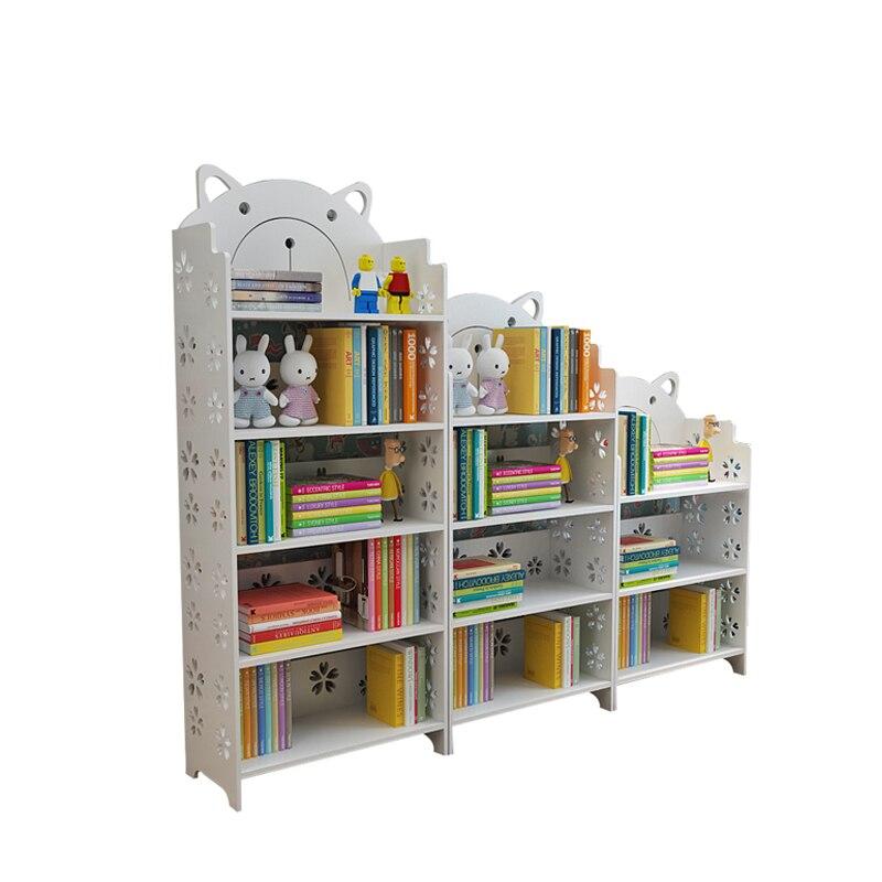 Simple Floor Small Bookshelf Students Multi-storey Bedroom Shelf Simple Living Room Household Reception