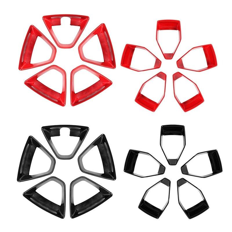for Suzuki Jimny 2019 2020 Car ABS Wheel Hub Tire Rim Cover Hubcap Deorative Frame Trim Accessories