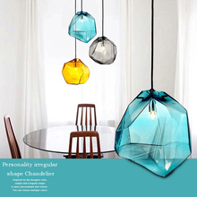 Colored Crystal Pendant Lights…