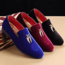 2020 new Casual Flat Slip-on Dress Shoes Large Size Pointed Toe Solid Color Wedding Loafers dress shoes leather ZH100178 new women solid color suede flats heel pearl fashion high quality basic pointed toe ballerina ballet flat slip on shoes light