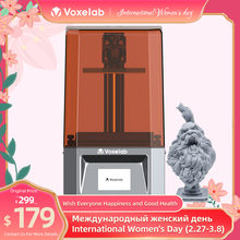Voxelab proxima 6.0in mono sla monocromático lcd impressora 3d uv fotocura resina tamanho de impressão 5.12x3.23 x 6.10in iniciantes