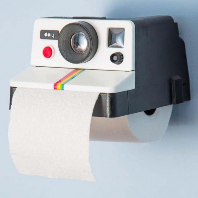Portable Camera Type Toilet Paper Holder Retro Paper Holder Plastic Paper Holder Home Car Decoration Towel Box