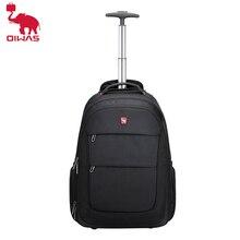 OIWAS Men's Trolley Backpack Business Travel Bag Large Capacity Waterproof Duffle Bag Laptop Luggage Backpacks For Women Teens